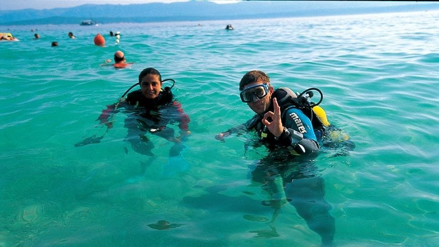 Diving on the Island of Brač