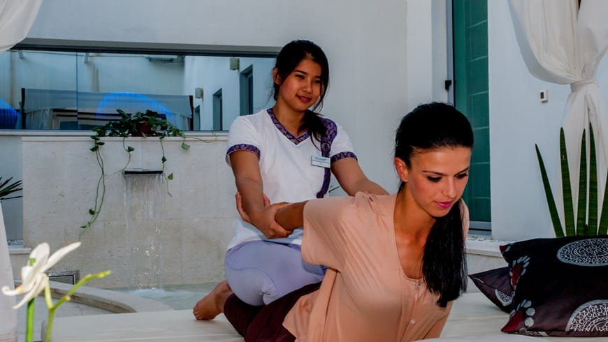Traditional Thai Massage Experience on Brač island