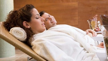 Spa is great for couples