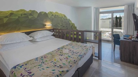 Rooms are spacious and completely renovated
