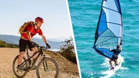 Spa packages for surfers and cycling tourists - Hotel Elaphusa****, Bol
