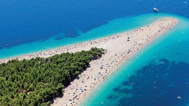cleanest sea and best beaches in croatia