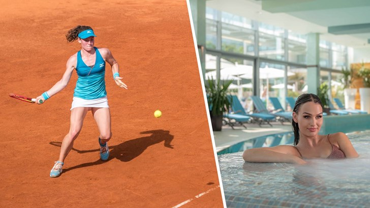 Tennis & Spa paket Elaphusa