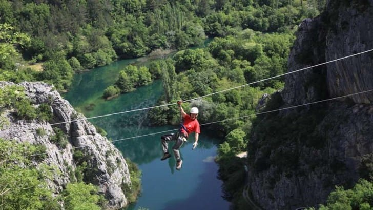 Zipline Omi Excursion From Tučepi And Brela