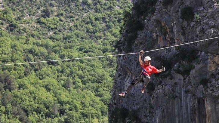 Zip Line Harness >> Zipline Omiš - Excursion from Tučepi and Brela